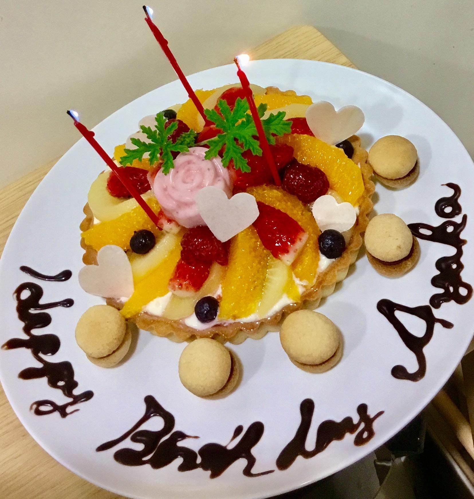サプライズケーキ♡