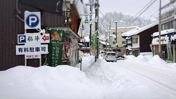 2017.1.15 2日間大雪に見舞われた八軒町
