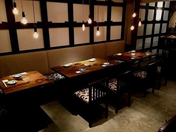 1F・テーブル喫煙席 2〜10名様