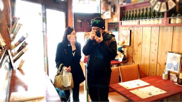 2017.2.21 地元のアップルパイで人気のCRUST CAFEのご夫婦ご来店♪