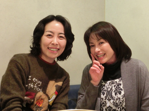 田中美奈子さんご来店。