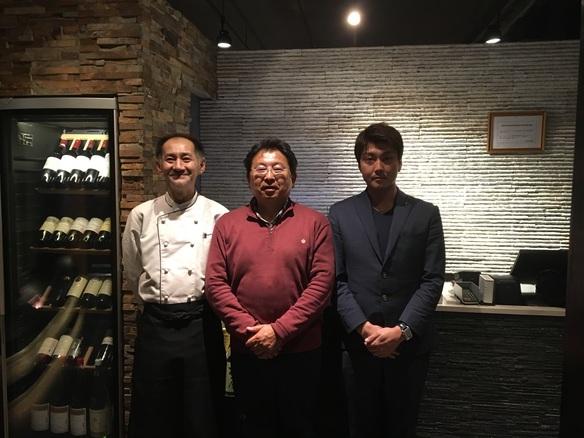 尾崎牛の生産者である尾崎宗春さんがご来店されました。