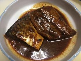 単品 サバ味噌煮