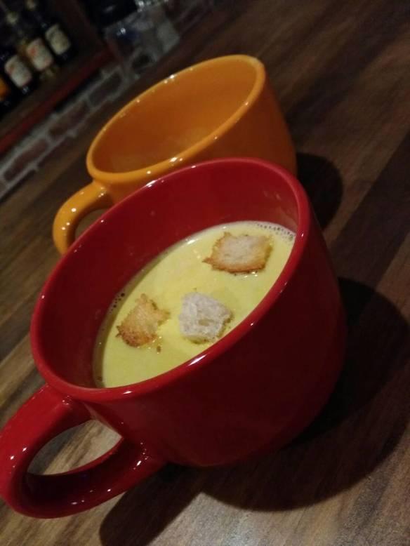 【日替わりメニュー】かぼちゃスープ