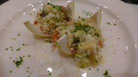 鯛フェア限定 「海援鯛とイタリア米のサラダ」 780円