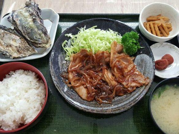 日替り 豚の生姜焼き定食(6月~10月)
