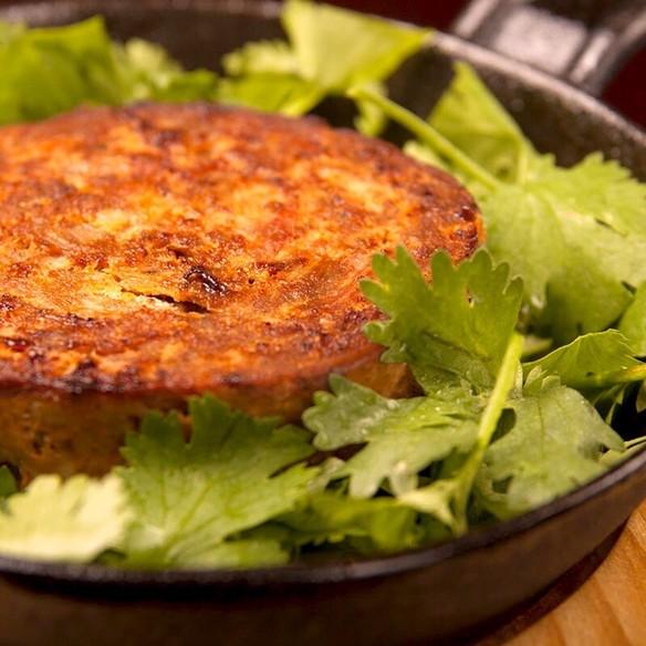 メルゲーズパクチーの焼きパテ