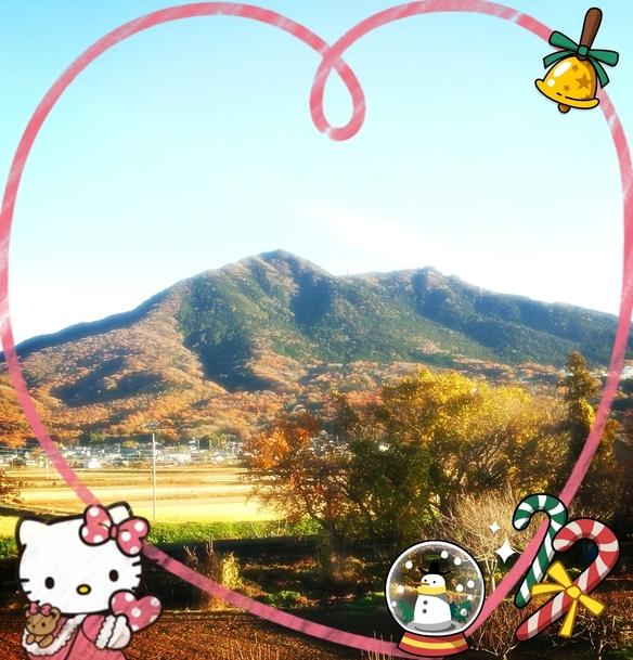秋の筑波山^^♪紅葉の季節ですね♪