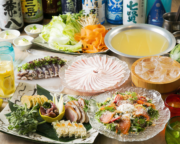 鍋メイン 宴会コース