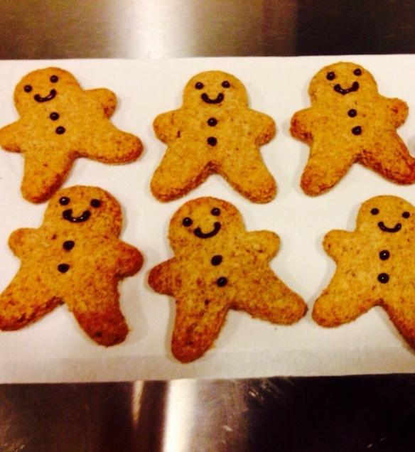 こちらはジンジャーマンクッキーです♪
