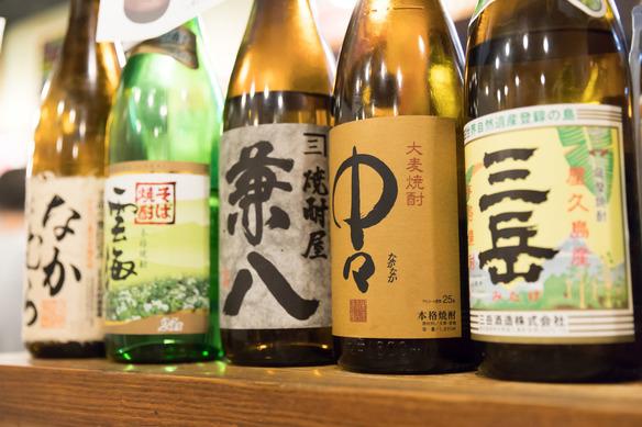 麺酒場燿(ひかる)では、焼酎も豊富に取り揃えております!