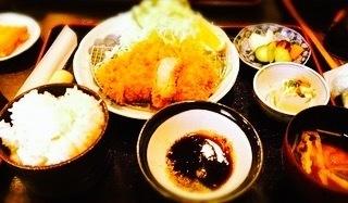 当店のイチオシ〜ロースカツ御膳  1980円