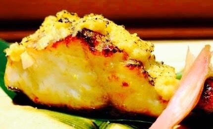 自家製味噌の銀ダラの西京焼きです。 880円。