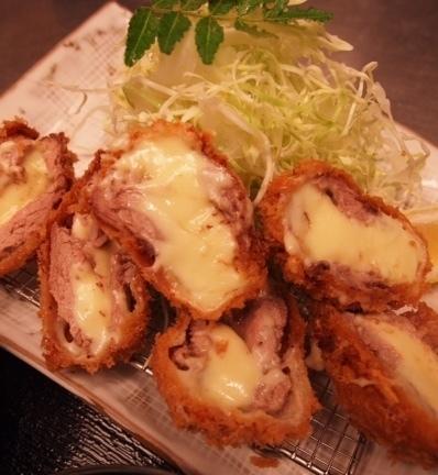 ヒレチーズかつ御膳 250g  2480円