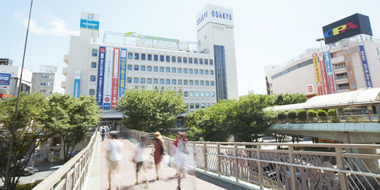 JR藤沢駅南口/小田急改札より徒歩2分の駅チカ