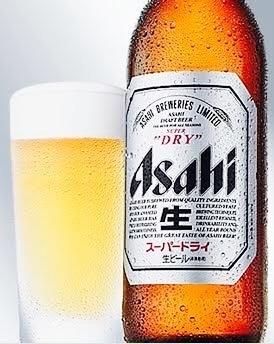 アサヒスーパードライ 中瓶  600円