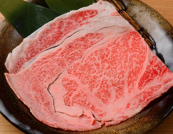 こんな大きなお肉も焼いてます 神戸牛リブロース