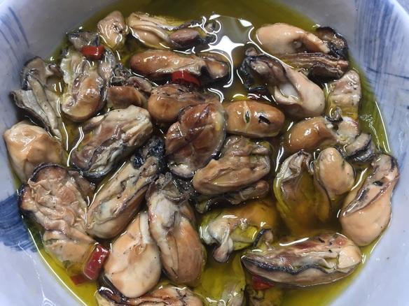 牡蠣スモーク
