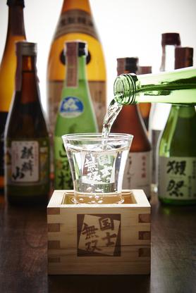 日本酒道産酒20種類以上 飲み放題にも道産酒あり