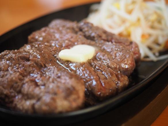 ステーキは150g〜1kgまで選べます!