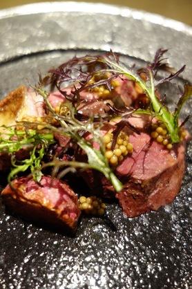 愛媛県産真鴨 紫白菜のアグロドルチェ 桃のすけ 紫からし菜