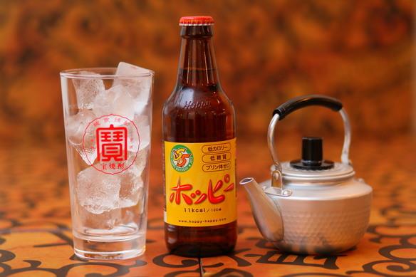プリン体ゼロ!低糖質!九州では珍しい、ホッピーをぜひ!