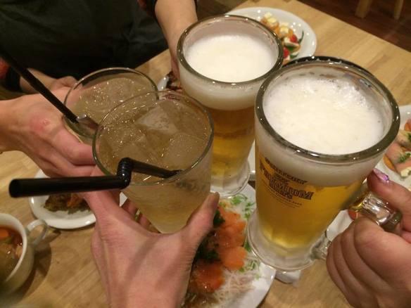 宴会等はuchiで是非(会社の歓送迎会・飲み会・各サークル飲み会・女子会で利用してもらっています)