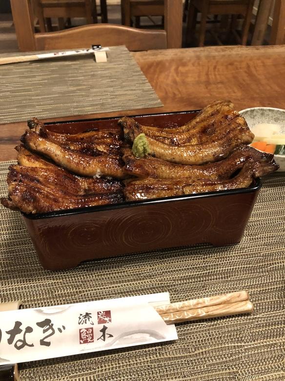 江戸焼き、関西焼きが楽しめる「二鰻羽織重」