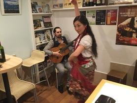 La noche flamenca en Ibero Americana Daniel y Yume