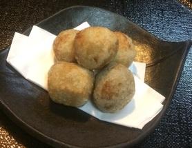 小芋の唐揚げ        ¥500-  税抜き