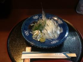 季節のお刺身          ¥980円-    税抜き