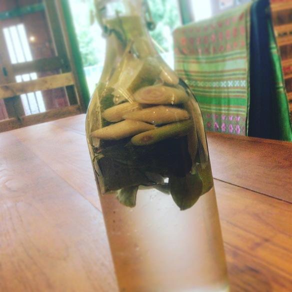 自家製レモングラススカッシュ