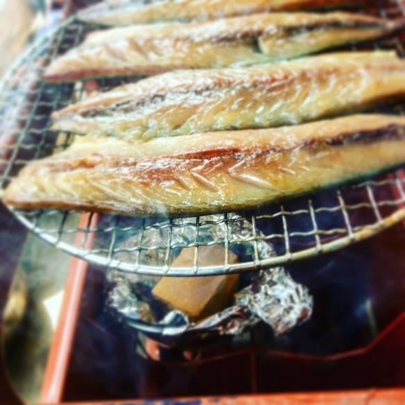 ナンプラ漬け燻製鯖