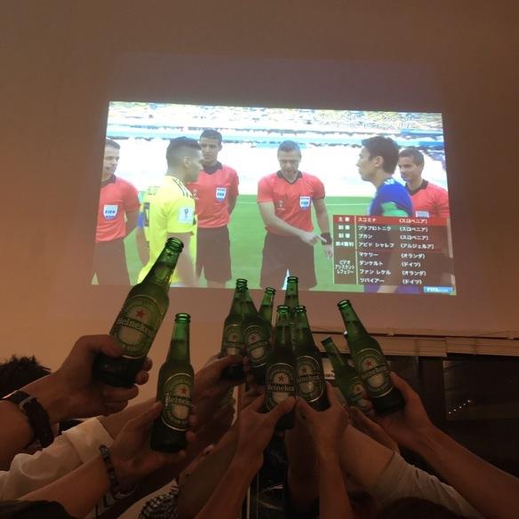 2018年ロシアW杯 初戦コロンビア戦 パブリックビュー