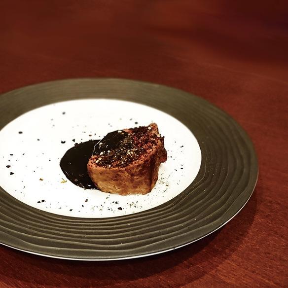 牛肉のブラッキーステーキ