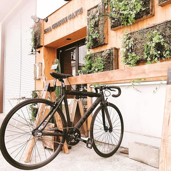 自転車乗り大歓迎 サイクルスタンド設置