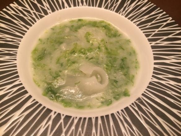 胸フカヒレ姿煮(50g)米クリーム煮込み