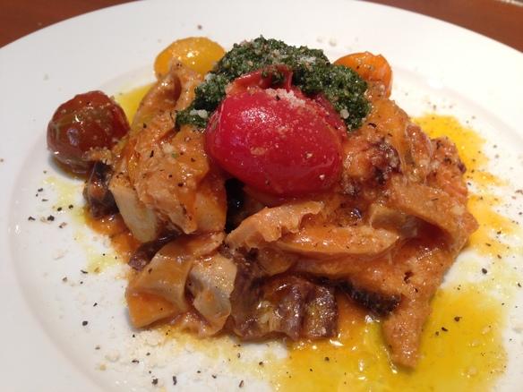 トリッパの煮込み 新鮮な北海道産のトリッパです