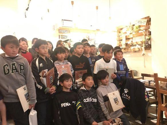 FC小田原6年生を送る会!!大盛り上がり♫