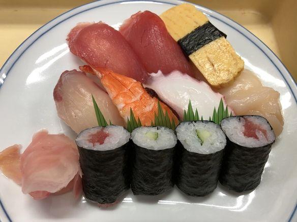 本日の握り寿司