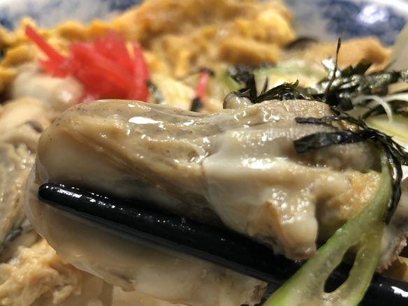 季節限定 #牡蠣丼