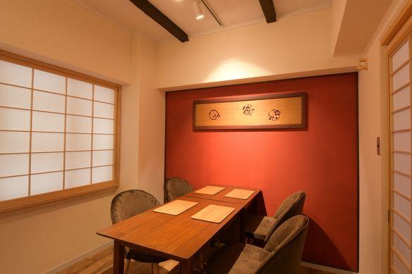 棗色の壁 こちらのお部屋は10名様まで入れます。