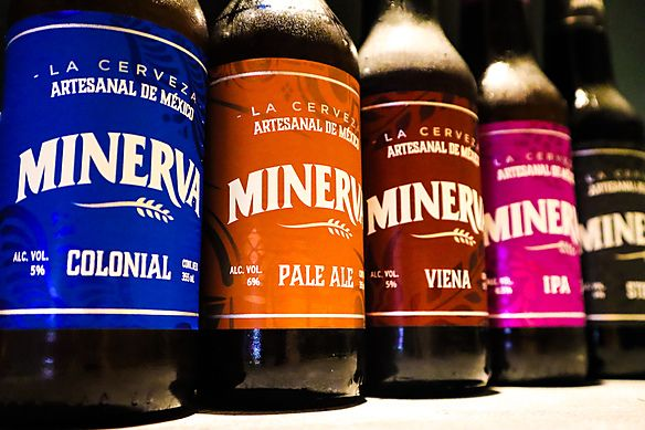 メキシコクラフトビール‶MINERVA″