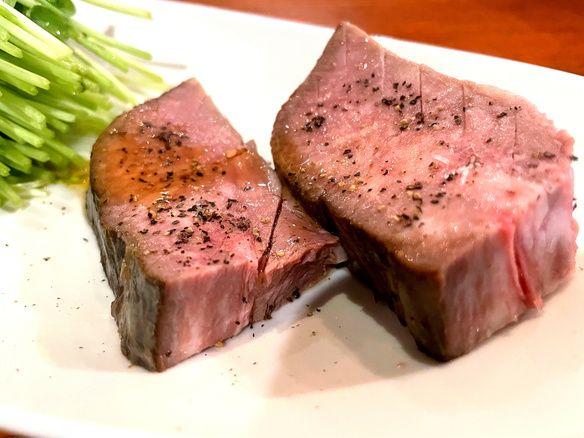 【低温調理×炙り焼肉】だからこそ楽しめる厚切り牛タン