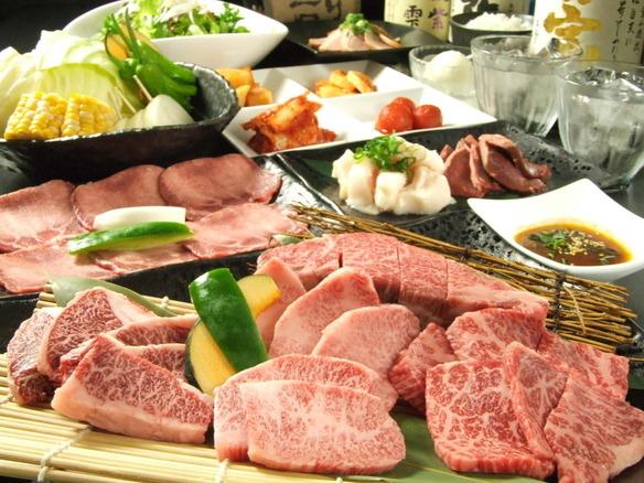 大満足の焼肉宴会コース!飲み放題付の宴会コースは3980円から!女子会限定プランもあります☆ご予算に応じて様々なコースをご提案します。