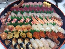 合格祝いにお寿司はいかが!前日までにご予約のお客様は10%OFF!