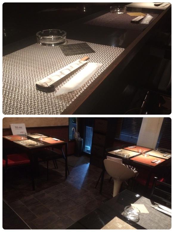 カウンターだけではなく、テーブル席もあります。カップルで、気の合う仲間で…様々なシーンでご利用頂けます。