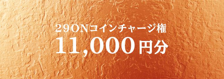 29ONコイン11,000円分チャージ権