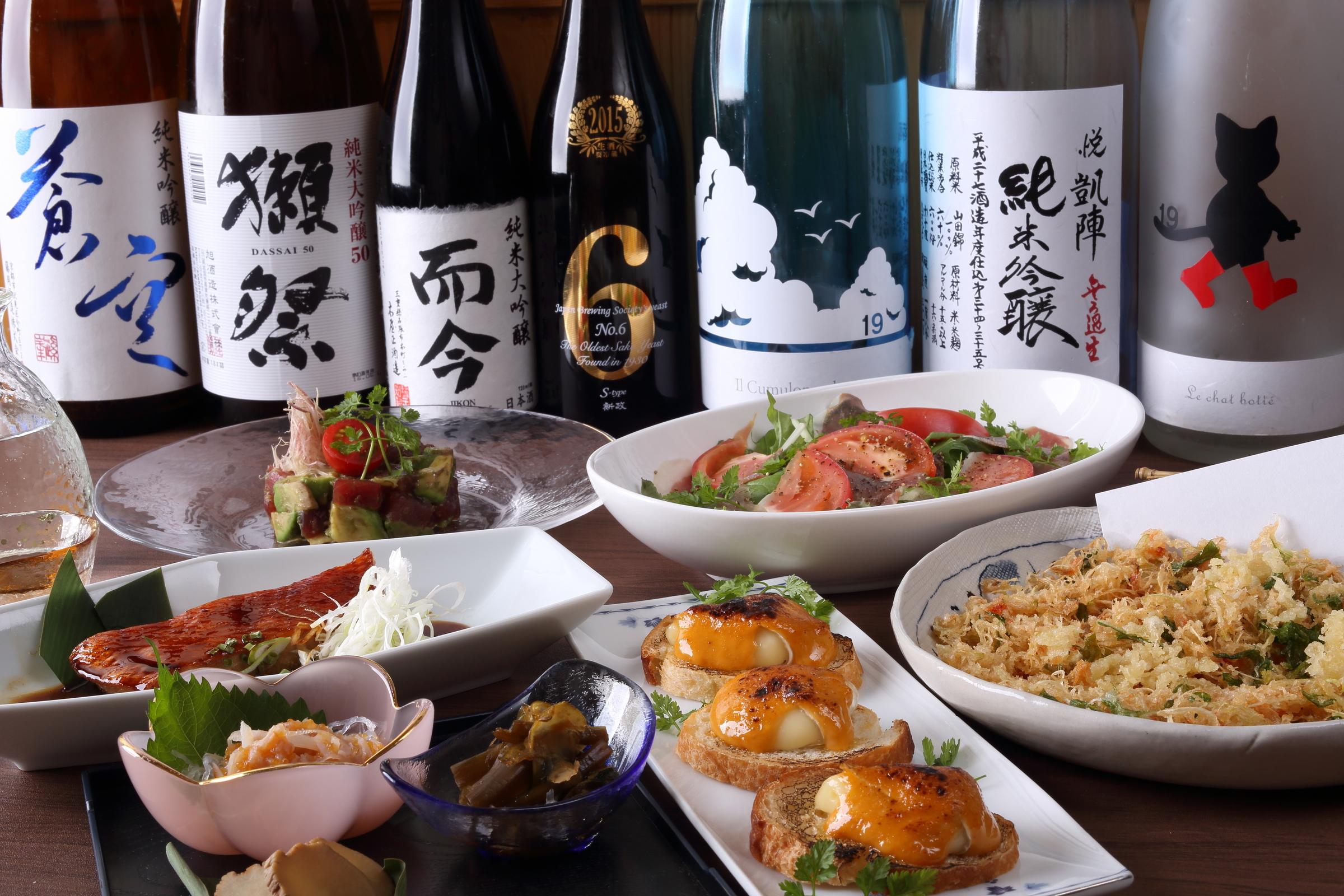 SHINOA/厳選地酒と創作和食/東中野 創作和食