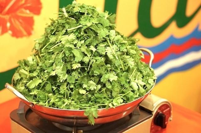 水菜や白菜の代わりはパクチー!?東京で食べられる山盛りパクチー鍋4選